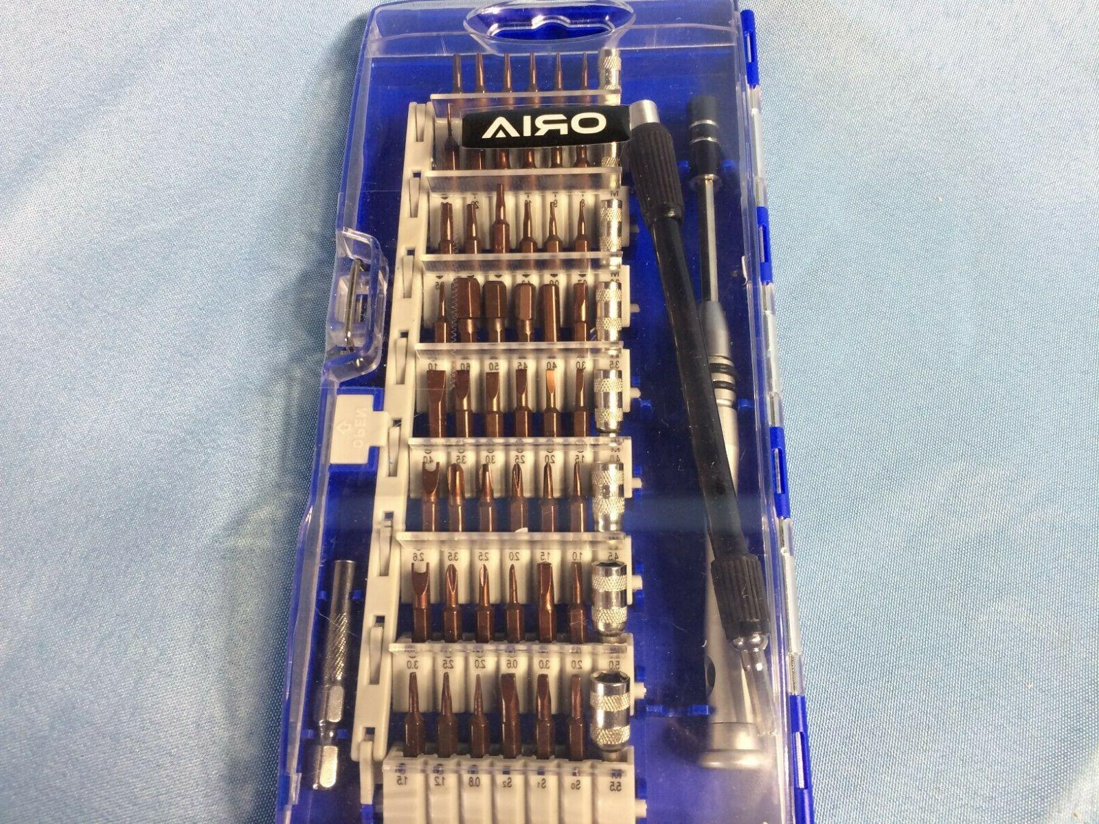 screwdriver set 60 in 1 professional repair