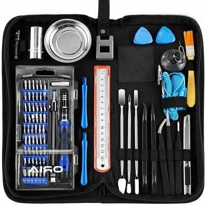 ORIA Screwdriver 84 in with Bits Magnetic Tool Kit
