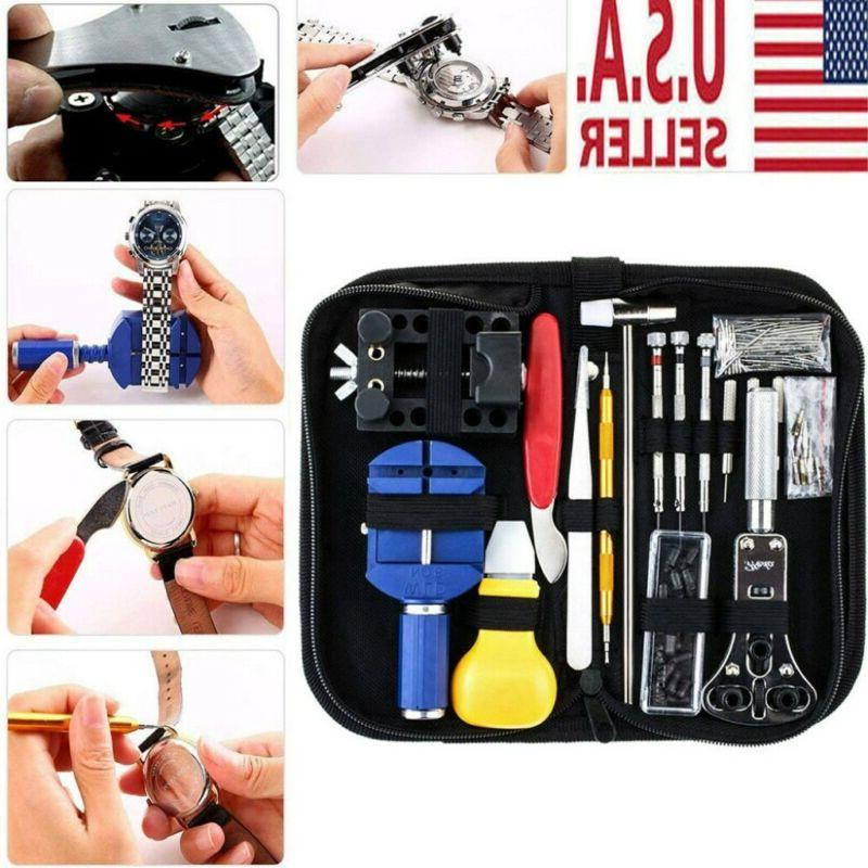 watch repair kit 147pcs link remover watchmaker