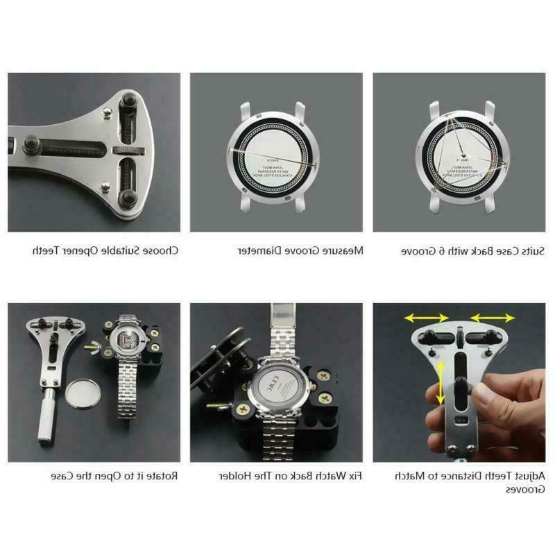 Watch Repair Back Case Link Remover Tool