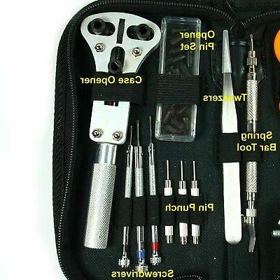 Watch Repair Spring Bar Tool Carrying Case