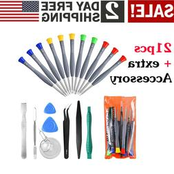 Magnetic Screwdriver Repair Tool Kit Set for Cell Phone iPho