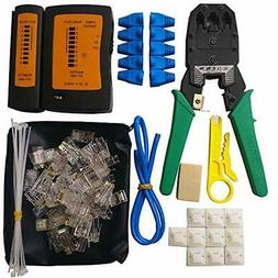 Network Cable Repair Tool Kit, Professional Computer &amp Mo