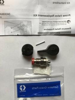 New Genuine Graco Prime Valve Repair Kit #235014 W/ Handle