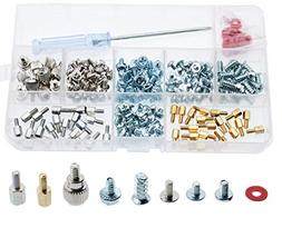 CO RODE Computer Screws, 220pcs PC Screw Standoffs Spacer Se