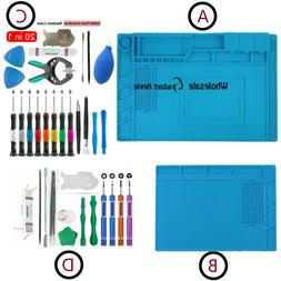 Phone Repair Screen Opening Tool Kit Screwdriver Silicone Pa