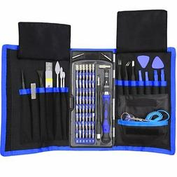 80 in 1 Precision Screwdriver Set with Magnetic Driver Kit,