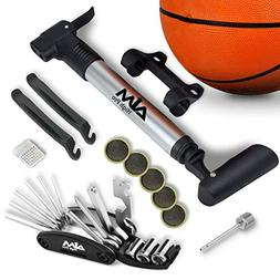 Bike Repair Kit with Pump - Bike Multitool - Tire Levers - B