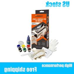 Professional Leather Repair Kit Compound Color Seat Restorer