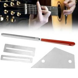 Quality Guitar Fret Crowning File Protector Leveling Grindin