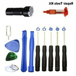 Repair Tools Kit For Cell Phone iPhone Samsung LCD Screen Gl