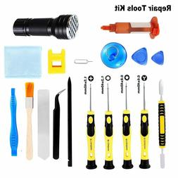 Repair Tools Kit  For Cell Phone iPhone Samsung Screen Glass