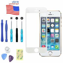 Replacement Front Screen Glass Lens+Repair Kit for iPhone SE