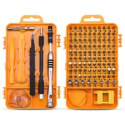 Screwdriver Set Repair Tool Kit - 108 in 1 Small Multi Screw