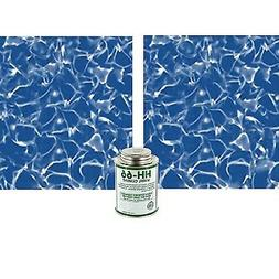 Swimming Pool Patch Liners 2pc Vinyl Inground Above Ground R