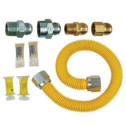 Brasscraft Tankless Water Heater Gas Installation Kit Coated