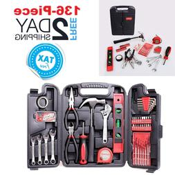 Tool Set For Home Household Repair Kit With Small Hard Case