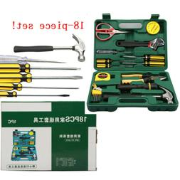 Tool Set For Home Household Repair Kit With Case Hand Toolbo