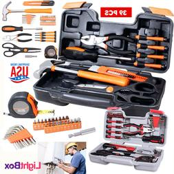 Tool Set Kit 39 PCS for Repair House Hand Case Portable Tool