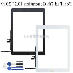 """Touch Screen Digitizer for iPad 7th Generation 10.2"""" 2019 Fr"""