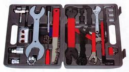 UNIVERSAL BICYCLE HOME MECHANIC 44 PC TOOL KIT SET REPAIR Wi