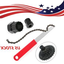 US Cycle Lockring Puller Remover Tool Freewheel Chain Whip K
