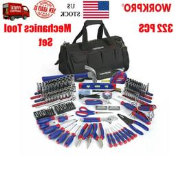 WORKPRO W009037A Home Repair Hand Tool Kit Basic Household T