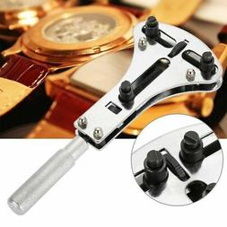 Watch Back Case Battery Cover Opener Repair Wrench Screw Rem