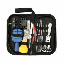 Watch Repair Kit, 144 Pcs Watch Tool Kit Spring Bar Tool Wat