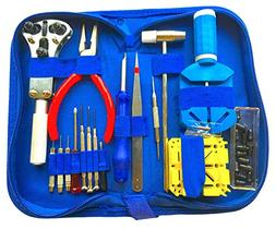 Watch Repair Kit Deluxe Tool Set Professional Battery Band L