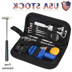 Watch Repair Kit Watchmaker Back Case Remover Opener Link Pi