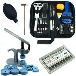 Watch Repair Tool Kit - Case Opener, Link Remover, Spring Ba