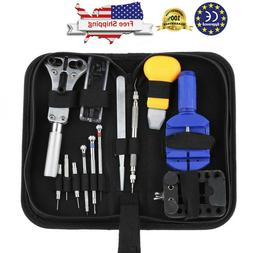 Watch Repair Tool Kits Opener Link Remover Spring Bar Hammer