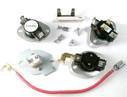 Whirlpool Dryer Complete Repair Thermostat Fuse Kit