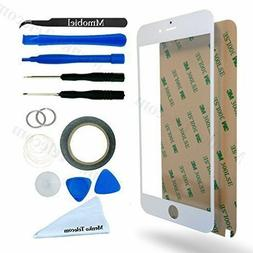 MMobiel White Touchscreen Repair/Replacement Kit For iPhone