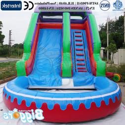 YARD Inflatable Slide With CE Blower And PVC Bag <font><b>Re